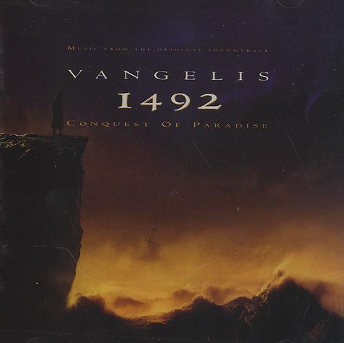 Vangelis 1492: Conquest of Paradise CD album (CDLP) German VGECDSO10149