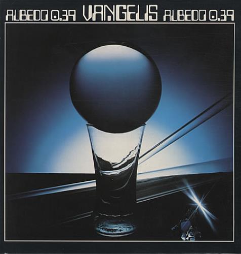 Vangelis Albedo 0.39 vinyl LP album (LP record) UK VGELPAL261041