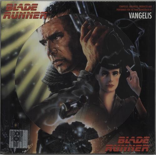 Vangelis Blade Runner - RSD17 - Sealed picture disc LP (vinyl picture disc album) UK VGEPDBL673338