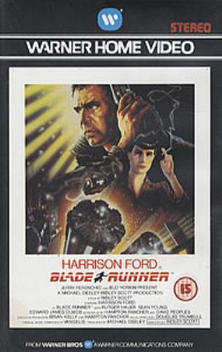 Vangelis Blade Runner Uk Video Vhs Or Pal Or Ntsc 277955