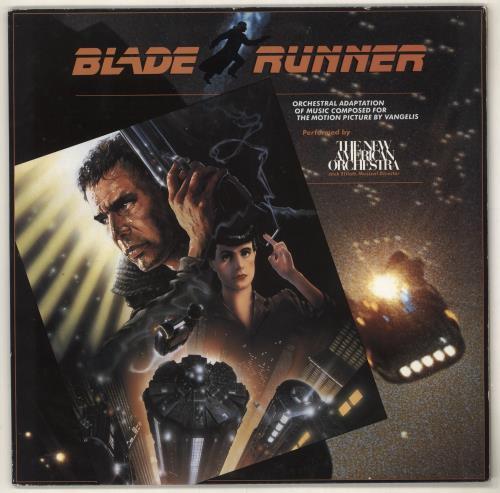 Vangelis Blade Runner vinyl LP album (LP record) German VGELPBL729968