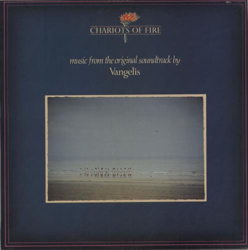 Vangelis Chariots Of Fire vinyl LP album (LP record) Singapore VGELPCH762710