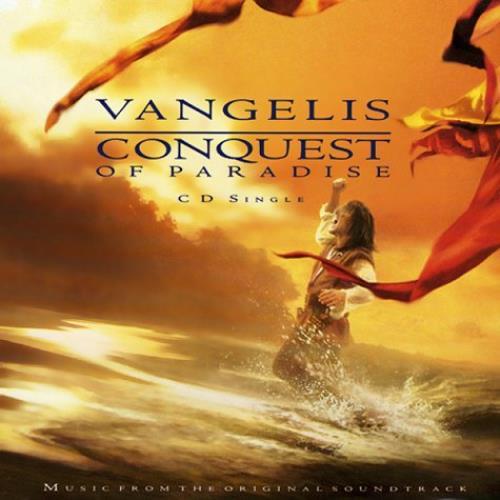 Vangelis Conquest Of Paradise Uk Cd Single Cd5 5 Quot 50975