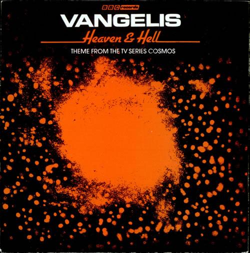 "Vangelis Heaven & Hell 7"" vinyl single (7 inch record) UK VGE07HE31060"