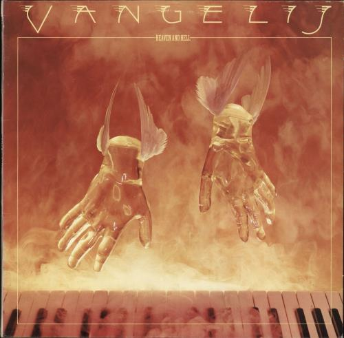 Vangelis Heaven And Hell vinyl LP album (LP record) Italian VGELPHE704127