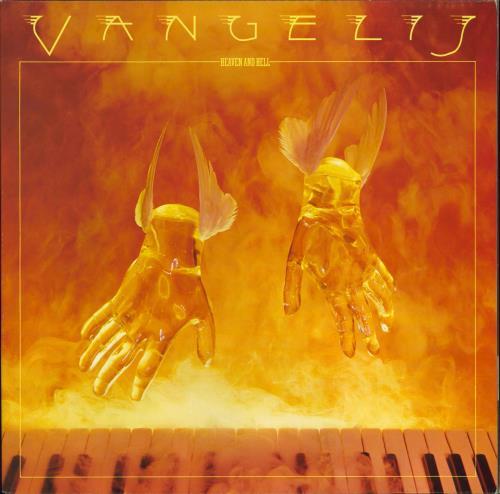 Vangelis Heaven And Hell vinyl LP album (LP record) UK VGELPHE769112