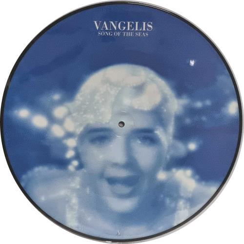 """Vangelis Song Of The Seas 12"""" vinyl picture disc 12inch picture disc record UK VGE2PSO768711"""