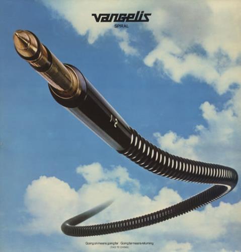 Vangelis Spiral + Inner vinyl LP album (LP record) UK VGELPSP330462