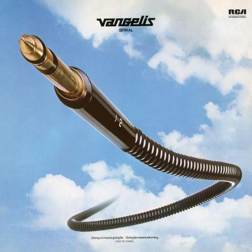 Vangelis Spiral - Gold Marbled Vinyl vinyl LP album (LP record) UK VGELPSP745763