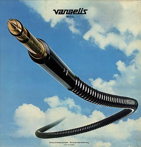 Vangelis Spiral vinyl LP album (LP record) UK VGELPSP173744