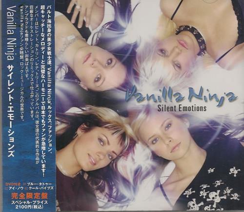 Vanilla Ninja Silent Emotions 2-disc CD/DVD set Japanese VAJ2DSI487474