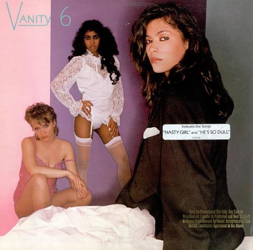 Vanity 6 Vanity 6 - Promo Stamped vinyl LP album (LP record) US XANLPVA85687