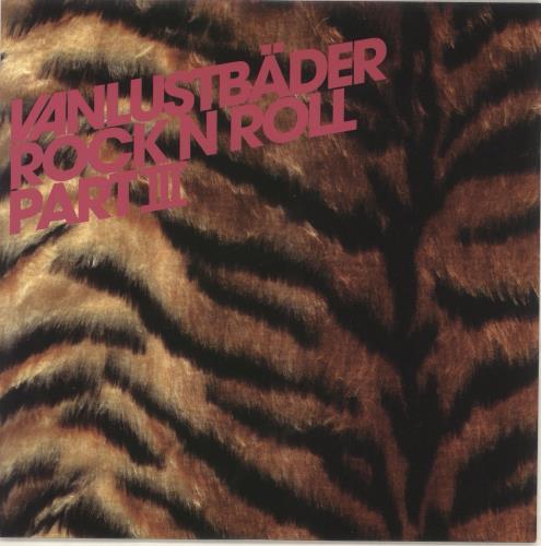 "Vanlustbader Rock N Roll Part III 7"" vinyl single (7 inch record) UK VBX07RO736021"