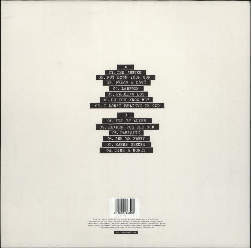 Vant Dumb Blood - Clear with Red Splatter Vinyl - Autographed vinyl LP album (LP record) UK YBPLPDU722407