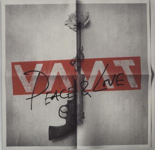 "Vant Peace & Love - Red Vinyl 7"" vinyl single (7 inch record) UK YBP07PE676960"