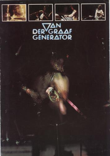 Van Der Graaf Generator 1976 Tour Programme - EX tour programme UK VDGTRTO768577