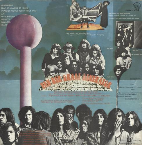 Van Der Graaf Generator 68-71 (Sixty Eight To Seventy One) vinyl LP album (LP record) Italian VDGLPSI727246