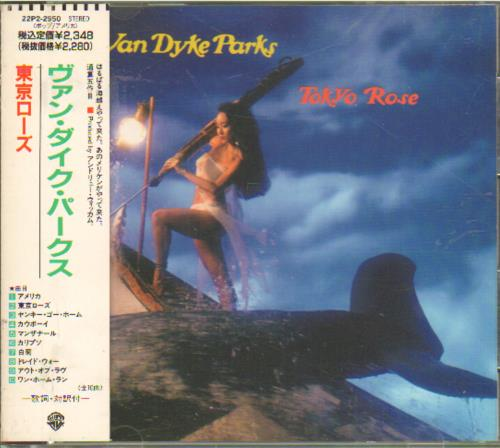 Van Dyke Parks Tokyo Rose CD album (CDLP) Japanese VDPCDTO313697