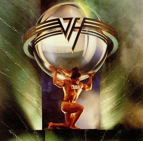Van Halen 5150 - Fifty-One-Fifty vinyl LP album (LP record) UK VNHLPFI190694