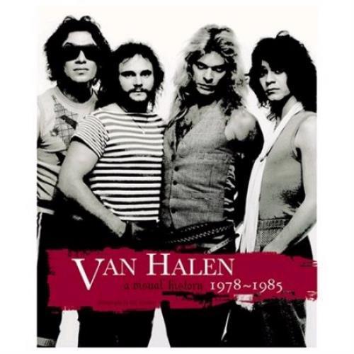 Van Halen A Visual History 1978 1985 Uk Book 398025 C73809
