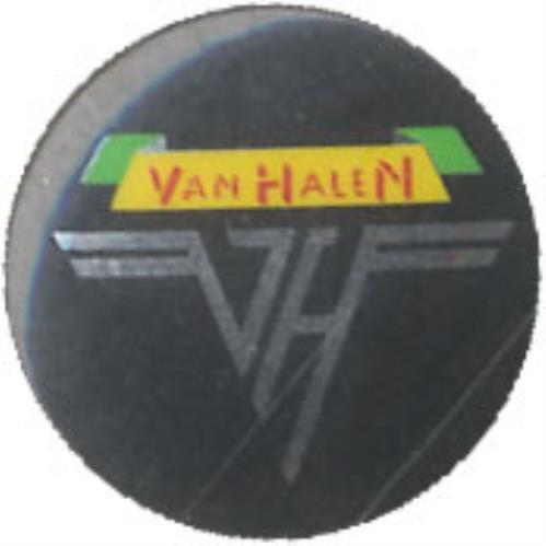 Van Halen Button Badge badge UK VNHBGBU509302