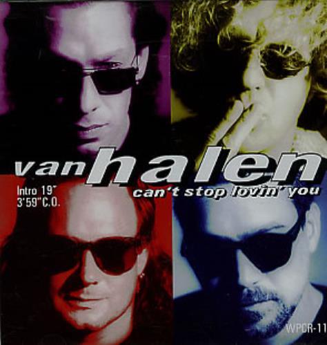 "Van Halen Can't Stop Loving You CD single (CD5 / 5"") Japanese VNHC5CA91187"
