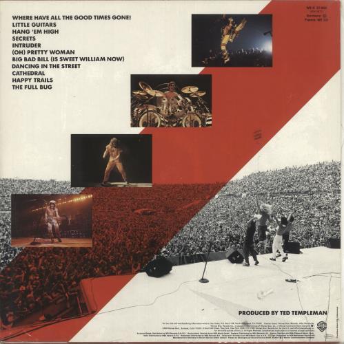 Van Halen Diver Down - Sealed vinyl LP album (LP record) German VNHLPDI719375
