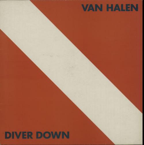 Van Halen Diver Down vinyl LP album (LP record) UK VNHLPDI523294