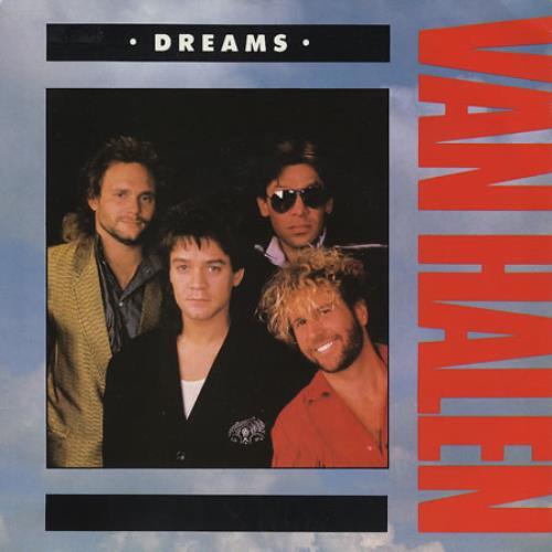 "Van Halen Dreams 7"" vinyl single (7 inch record) UK VNH07DR361439"