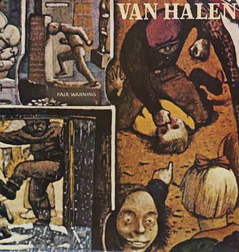 Van Halen Fair Warning vinyl LP album (LP record) UK VNHLPFA363199