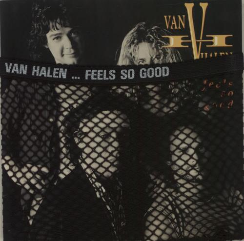 "Van Halen Feels Go Good 7"" vinyl single (7 inch record) UK VNH07FE679440"