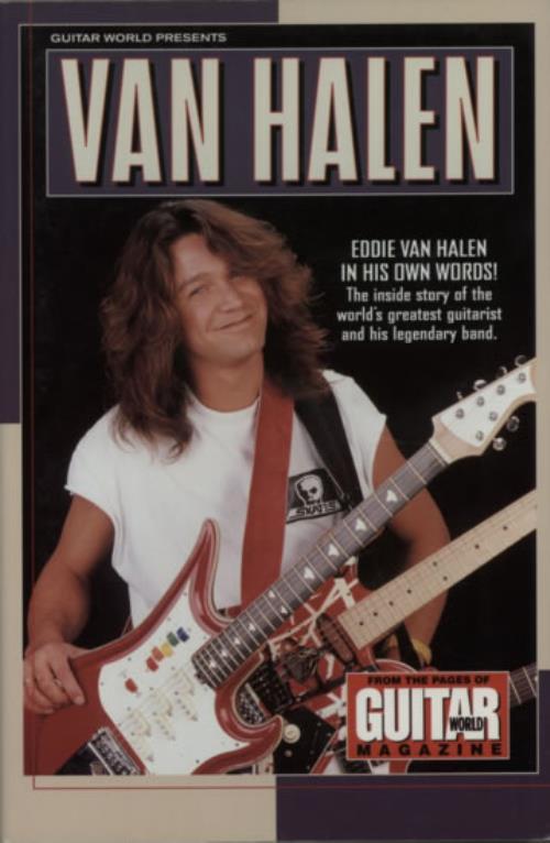 Van Halen Guitar World Presents.. book US VNHBKGU600504
