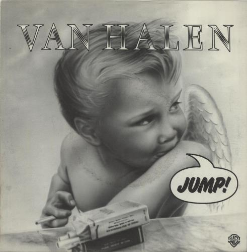 "Van Halen Jump - P/S 7"" vinyl single (7 inch record) UK VNH07JU389243"