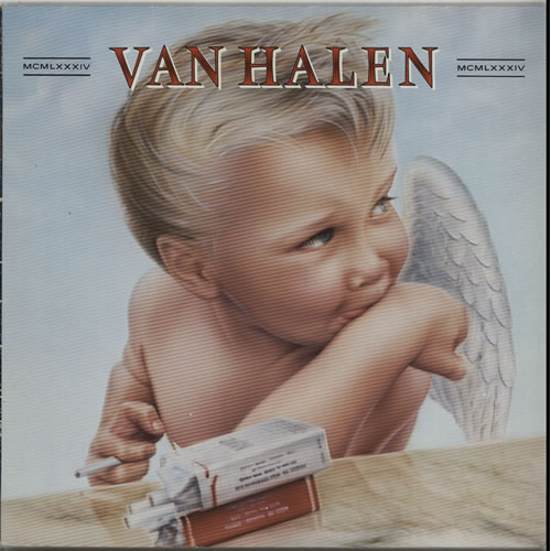 Van Halen MCMLXXXIV vinyl LP album (LP record) German VNHLPMC636366