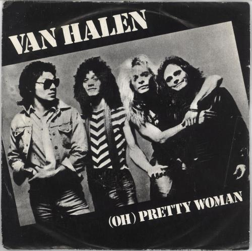 "Van Halen Pretty Woman 7"" vinyl single (7 inch record) Portugese VNH07PR49729"