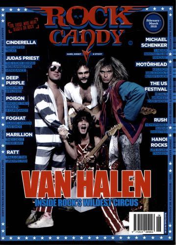 Van Halen Rock Candy magazine UK VNHMARO692615