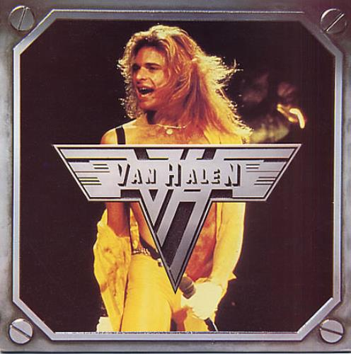 "Van Halen Runnin' With The Devil - p/s 7"" vinyl single (7 inch record) UK VNH07RU159986"