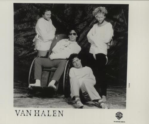 Van Halen Three Publicity Photographs photograph UK VNHPHTH678344