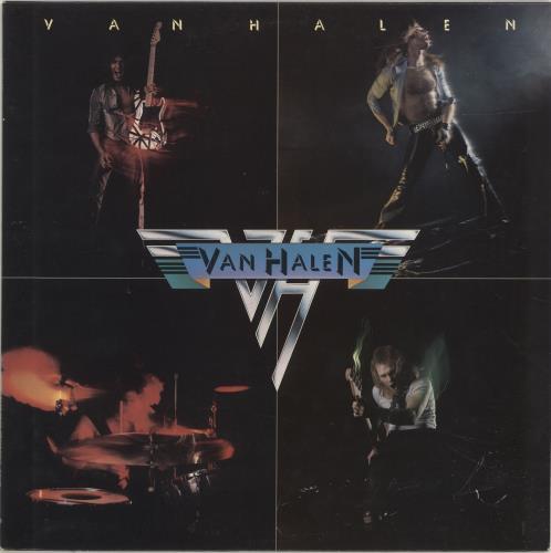 Van Halen Van Halen - 2nd vinyl LP album (LP record) UK VNHLPVA692800
