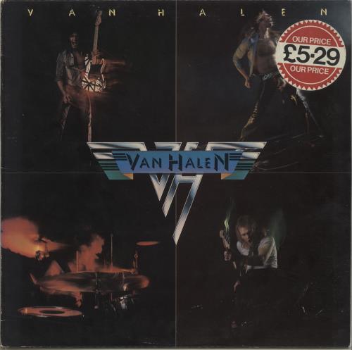 Van Halen Van Halen - EX vinyl LP album (LP record) UK VNHLPVA319031