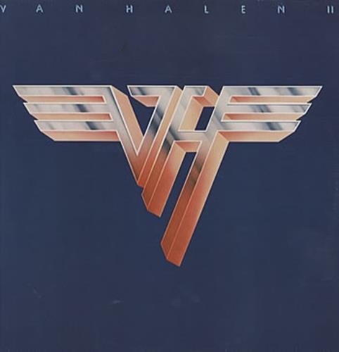 Van Halen Van Halen II + inner vinyl LP album (LP record) German VNHLPVA319032