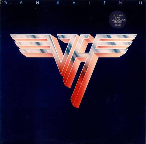 Van Halen Van Halen II + Poster vinyl LP album (LP record) UK VNHLPVA245068
