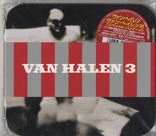 Van Halen Van Halen III CD album (CDLP) Japanese VNHCDVA541769
