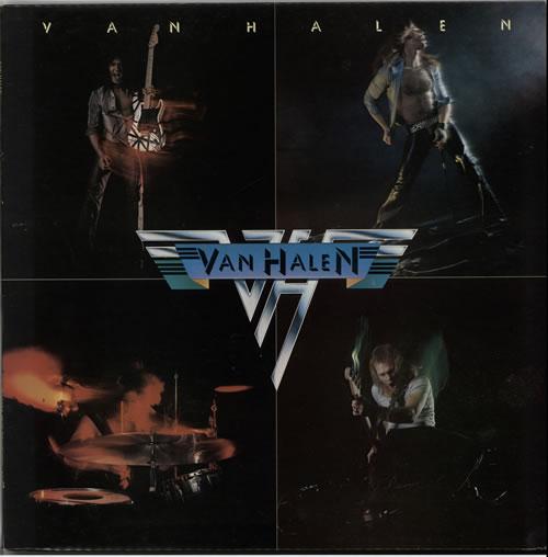 Van Halen Van Halen vinyl LP album (LP record) UK VNHLPVA216855