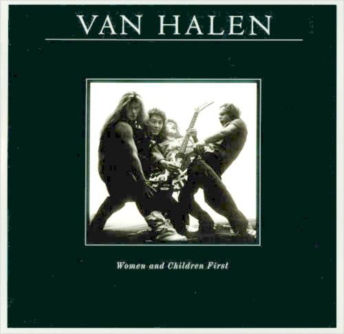 Van Halen Women And Children First + Poster vinyl LP album (LP record) German VNHLPWO455806