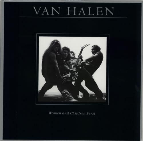 Van Halen Women And Children First - 180 Gram vinyl LP album (LP record) US VNHLPWO592496