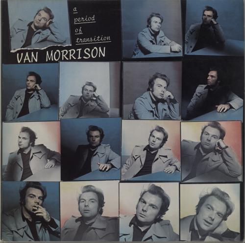 Van Morrison A Period Of Transition vinyl LP album (LP record) UK VMOLPAP258045