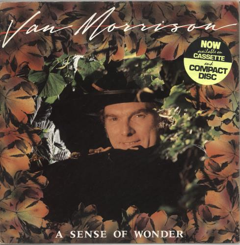 Van Morrison A Sense Of Wonder - Test Pressing + Proof Sleeve & Sales Presenter vinyl LP album (LP record) UK VMOLPAS732923