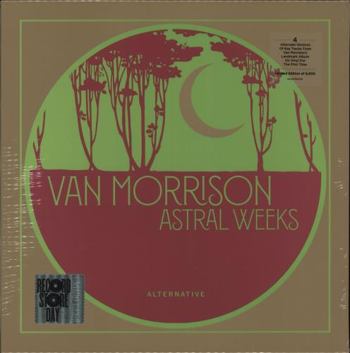 "Van Morrison Astral Weeks: Alternative - RSD19 - Sealed 10"" vinyl single (10"" record) UK VMO10AS718415"