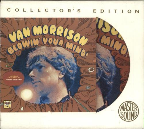 Van Morrison Blowin Your Mind - Picture Cd CD album (CDLP) UK VMOCDBL737573